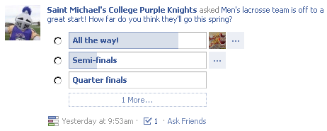 SMC Athletics Facebook Question