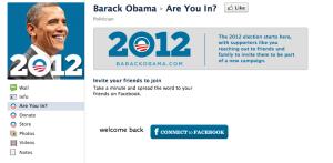Obama Facebook tab